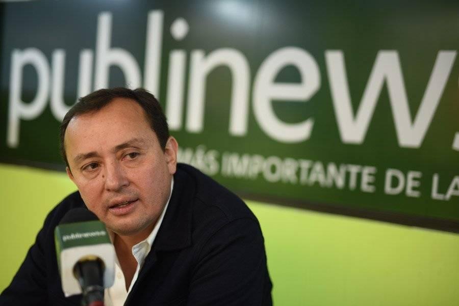 Roberto González, candidato a alcalde de la ciudad por el partido CREO.