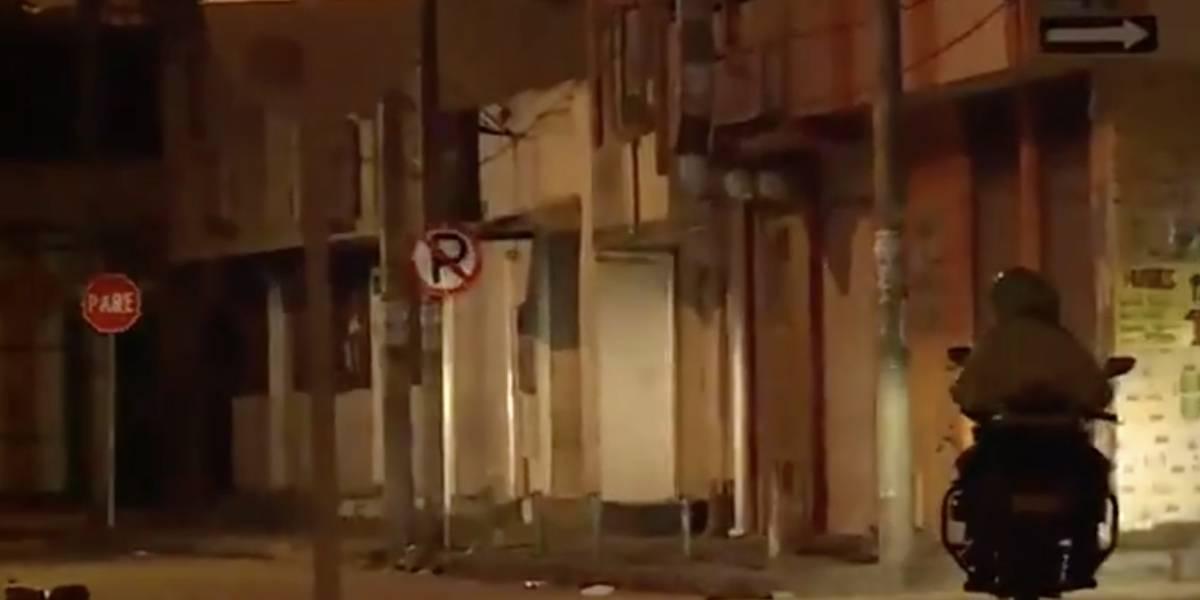 Una persona muere en medio de un atraco en Bogotá