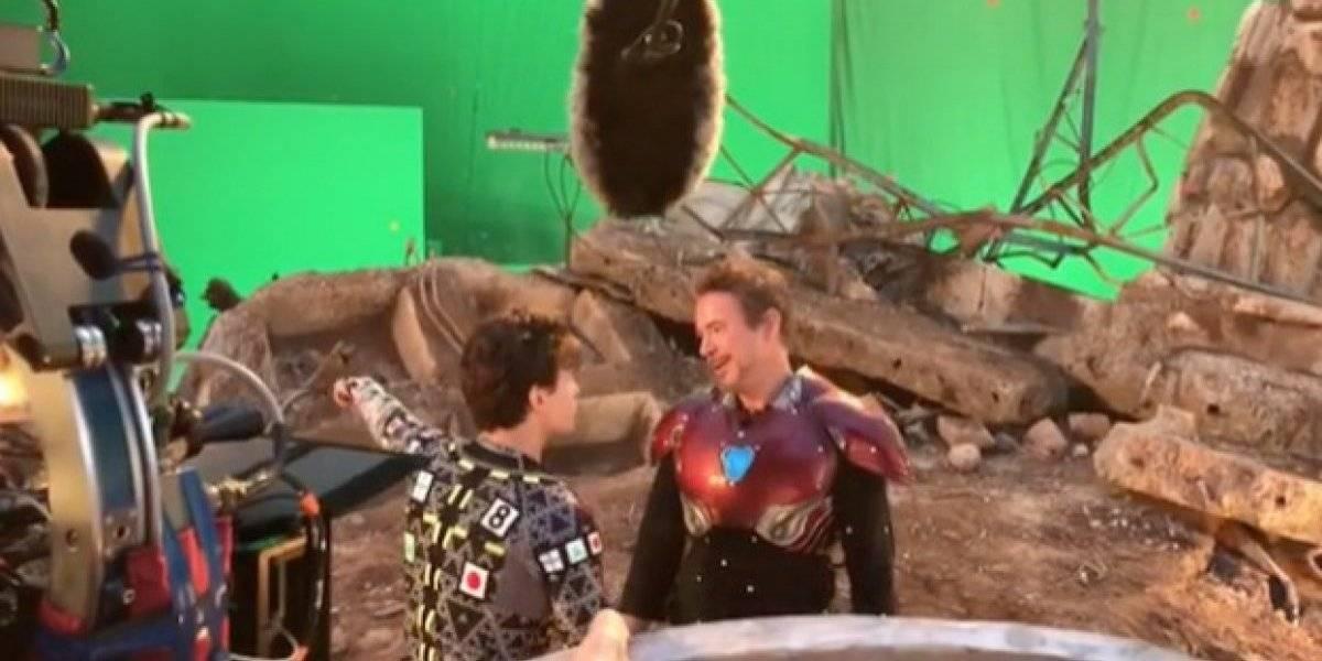 """Así fueron los momentos tras cámaras de """"Avengers:Endgame"""""""