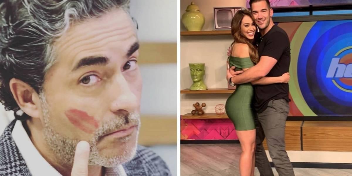 Novio de Yanet García manda advertencia a Raúl Araiza