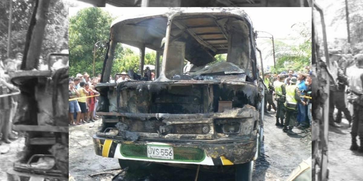 Capturan al conductor de bus en que murieron incinerados 33 niños en Fundación en 2014