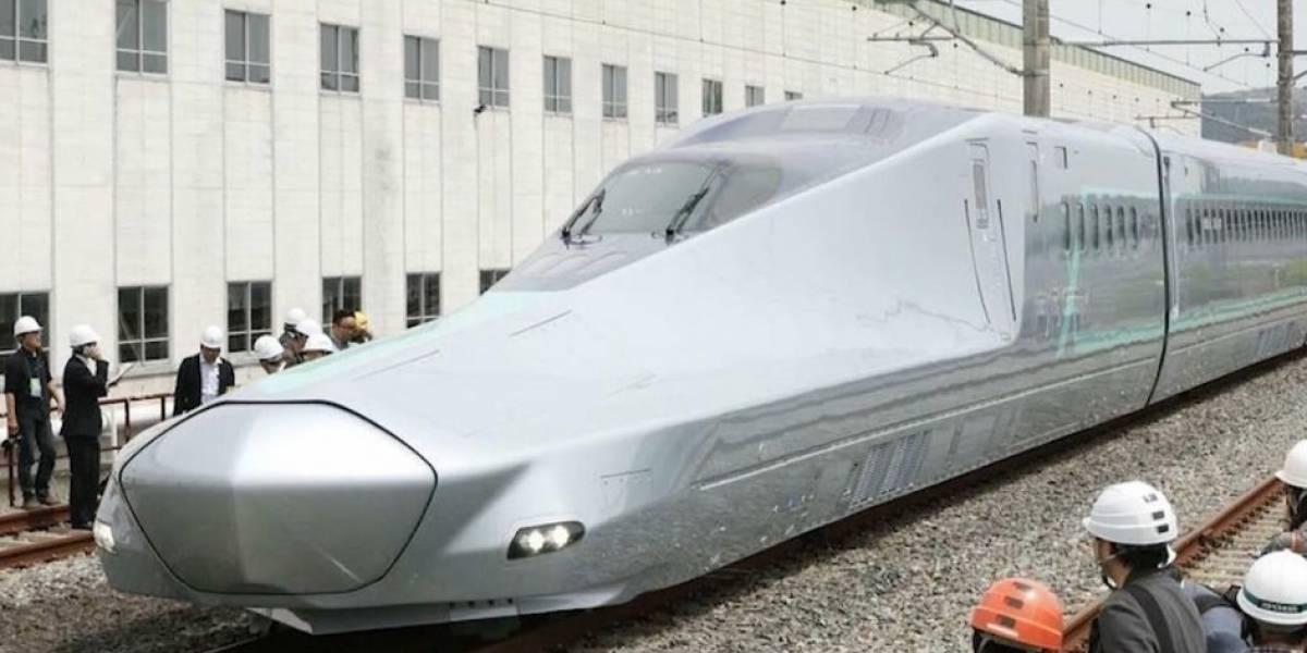 Japón crea un tren de rieles normales que pueden correr a 400 km/h