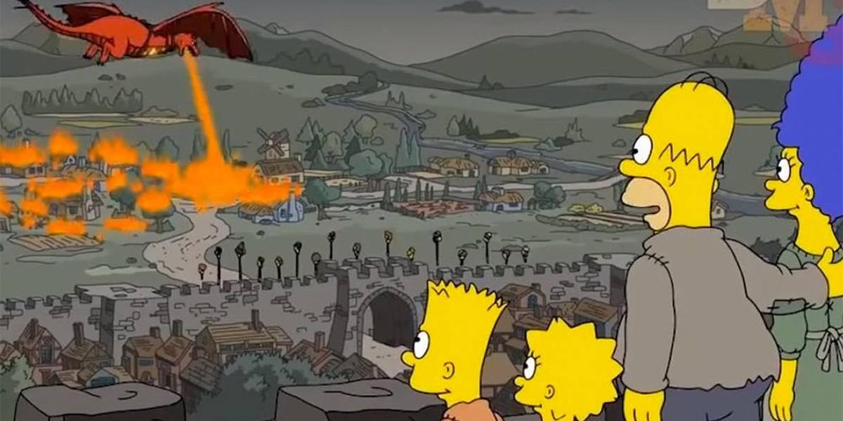 'Os Simpsons' previram cenas dos últimos episódios de 'Game of Thrones'