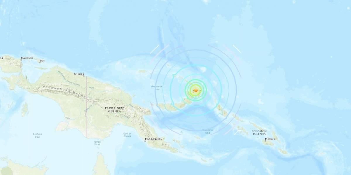 Terremoto de magnitud 7.5 sacude el este de Papúa-Nueva Guinea