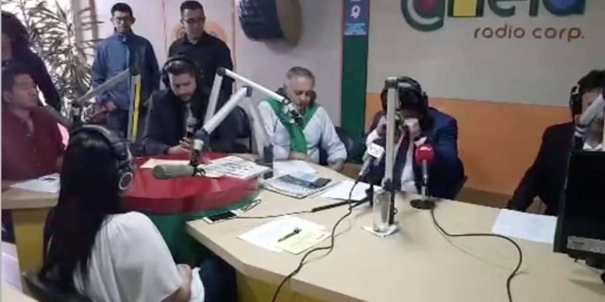 Lágrimas y risas en la despedida de Jorge Yunda de Radio Canela