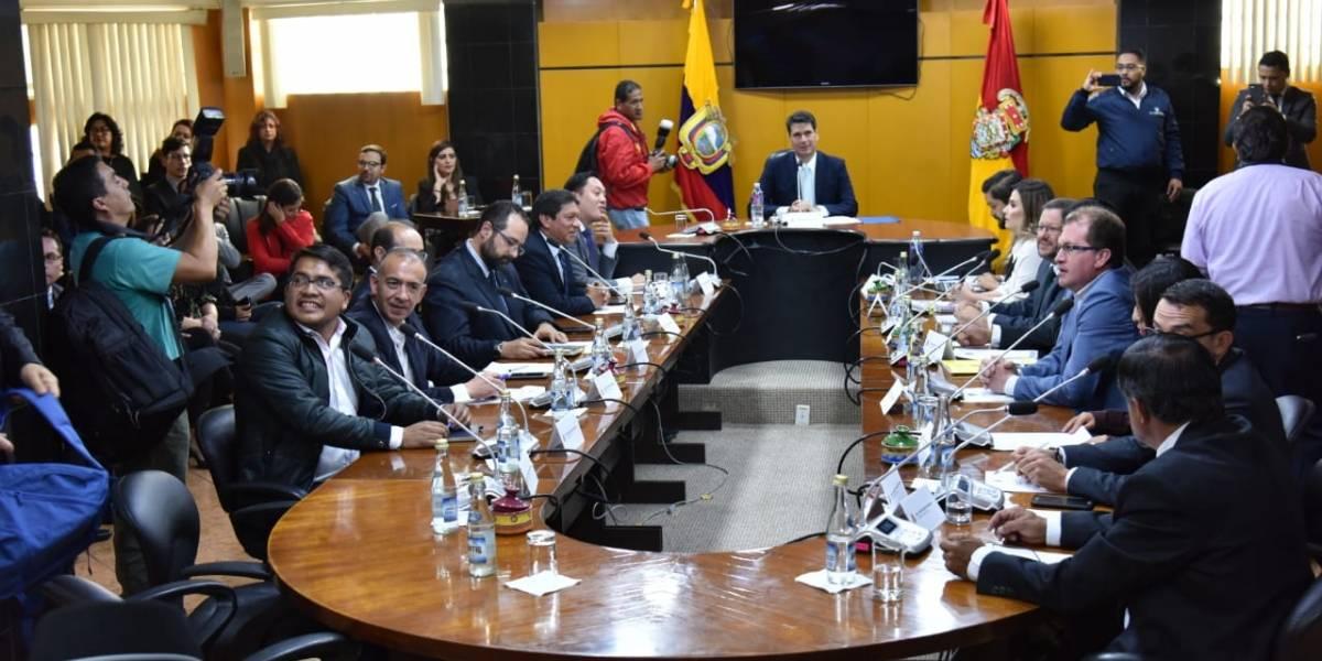 Falta de consenso entre concejales impidió elegir a Vicealcalde de Cuenca