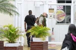 Cascadura reféns prédio tenente-coronel