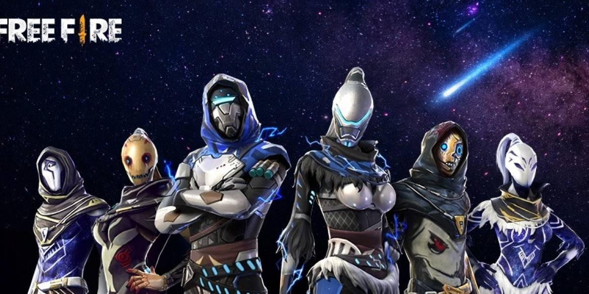 'Besta da Galáxia': Garena libera novas skins para o game Free Fire