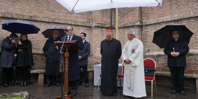 Ecuador ya tiene a la Virgen del Quinche en los jardines del Vaticano