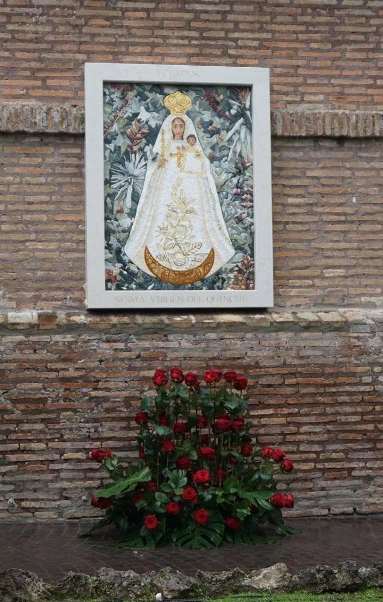 Ecuador ya tiene a la Virgen del Quinche en los jardines del Vaticano EFE