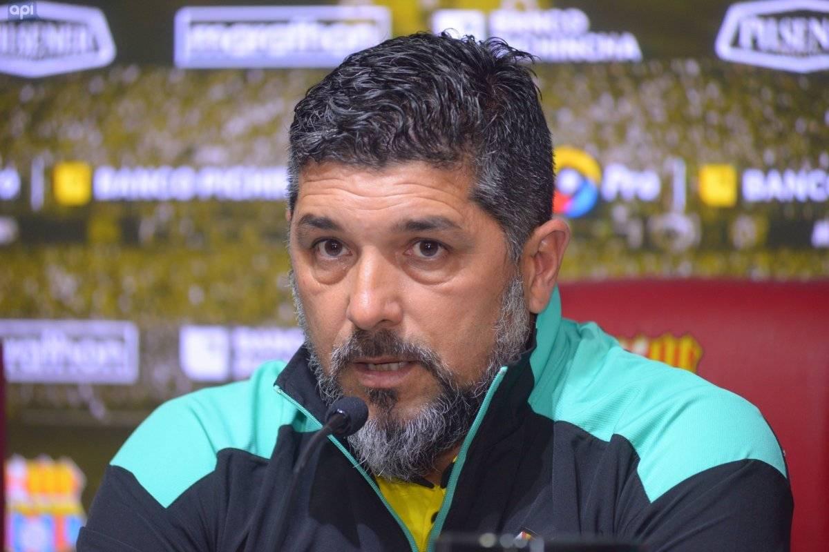DT de Barcelona SC, Leonardo Ramos API