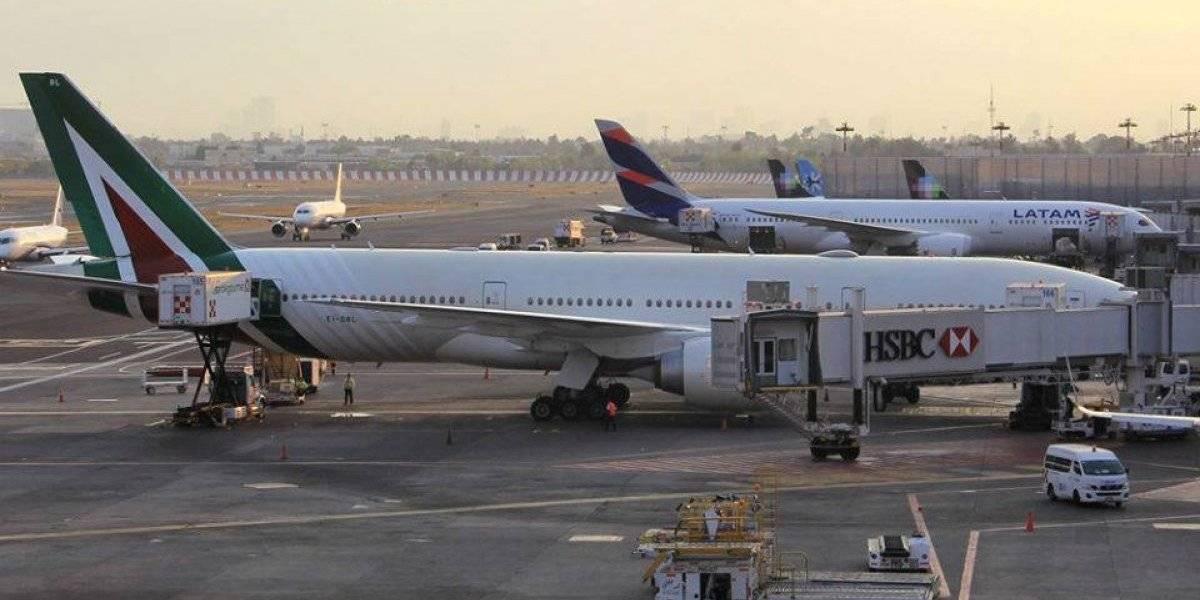Lluvia afecta operaciones de Aeropuerto por 15 minutos