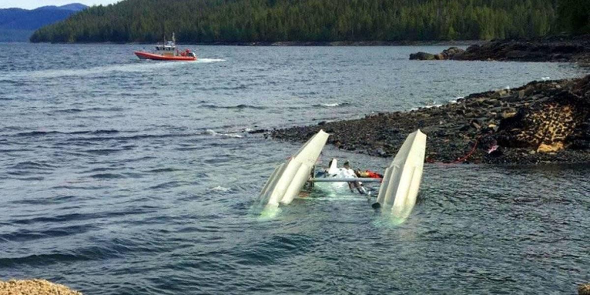 Avionetas chocan en pleno vuelo sobre Alaska y deja 6 muertos