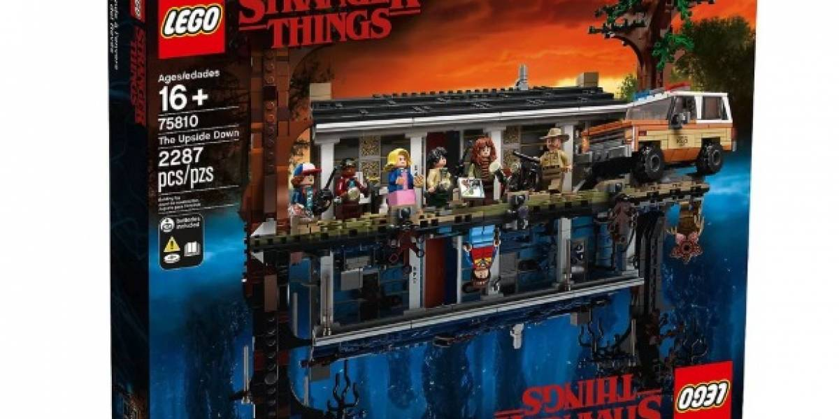 """Conoce el alucinante y """"reversible"""" nuevo juguete de LEGO y Stranger Things"""