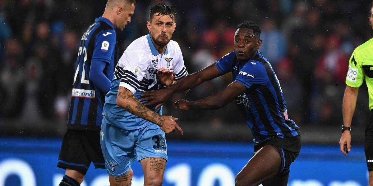 ¡Triste desenlace! Lazio sepultó el sueño de Duván Zapata de consagrarse campeón de la Copa Italia