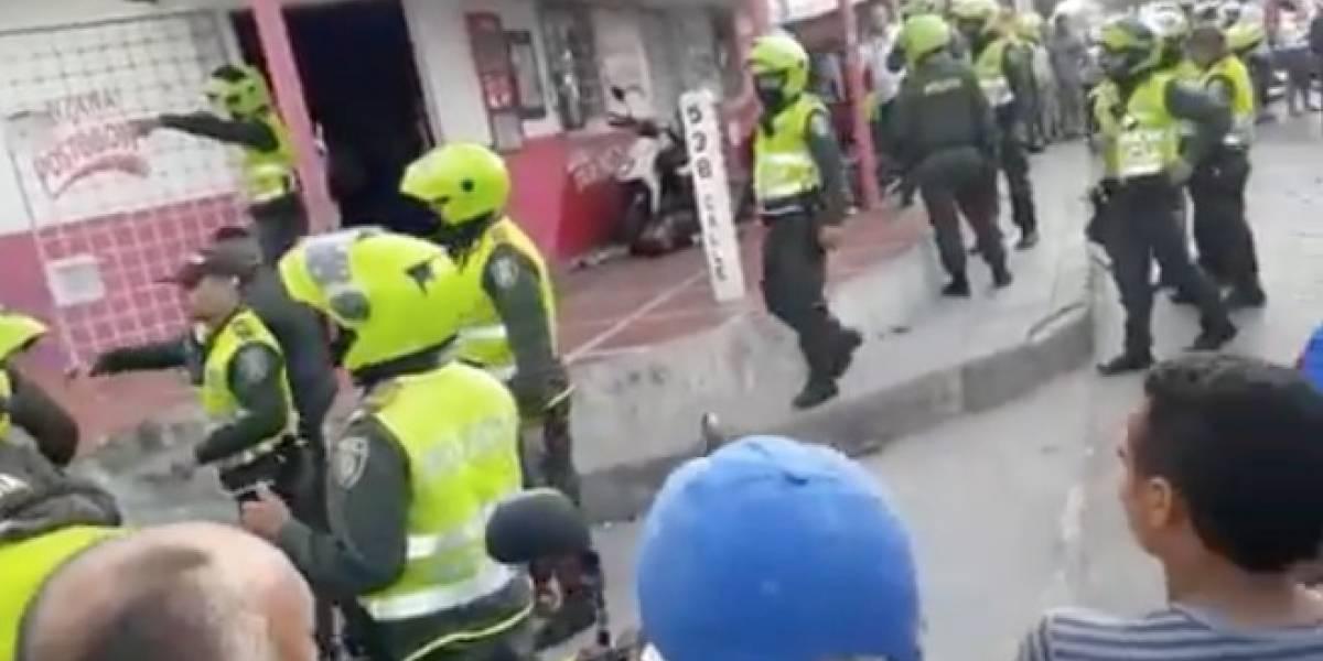 Ladrones robaron a oficial de la Sijín que iba de civil, pero éste terminó asesinando a uno de ellos