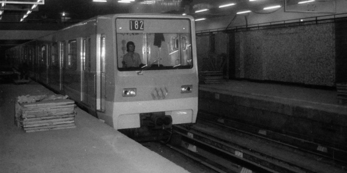 """""""Una pieza de historia viva!"""": el inédito video con el que Metro de Santiago celebró el aniversario de la """"marcha blanca"""" de la Línea 1"""