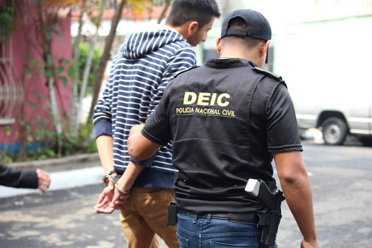 Wagner Chojolán, capturado en allanamientos contra femicidio