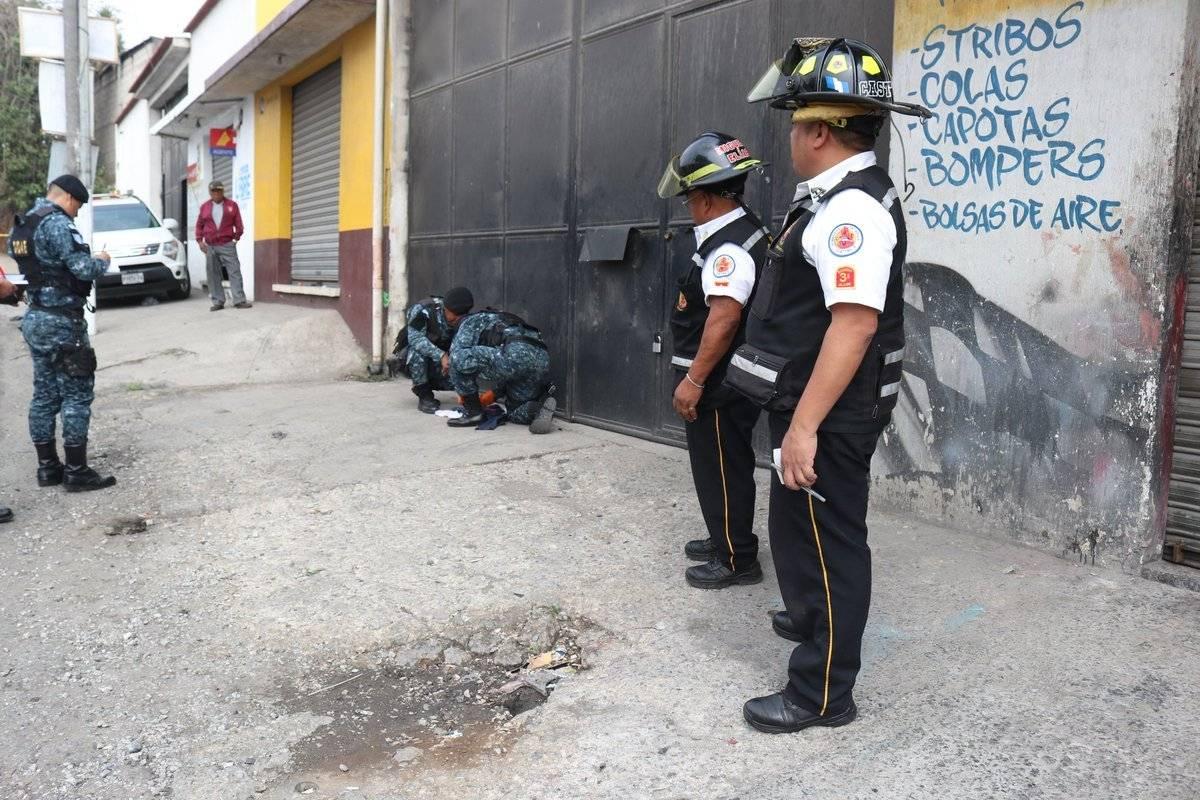 localizan explosivo en predio de Mixco