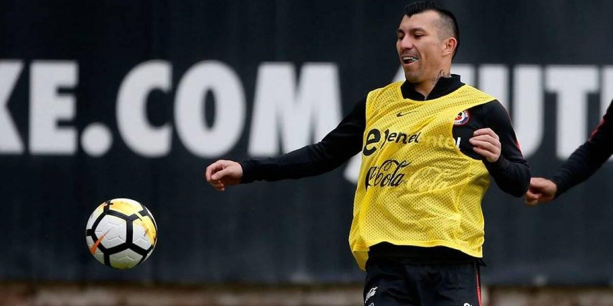 Respira la Roja de Rueda: Gary Medel volvió a las prácticas en Besiktas tras superar grave lesión