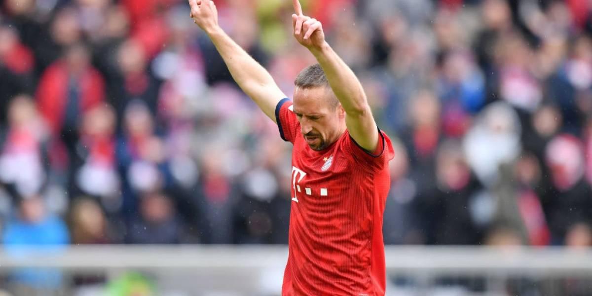 """Ribery apela a la nostalgia en su adiós al Bayern: """"Quedarme 12 años aquí fue la mejor decisión de mi vida"""""""
