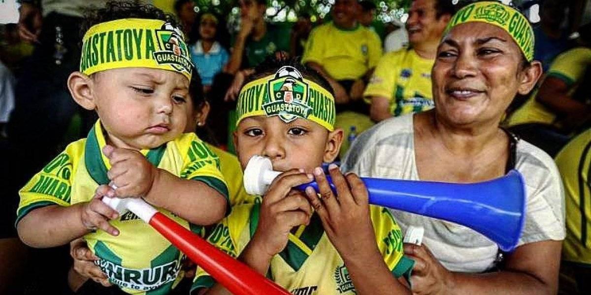 Guastatoya vive una fiesta en la previa de la semifinal