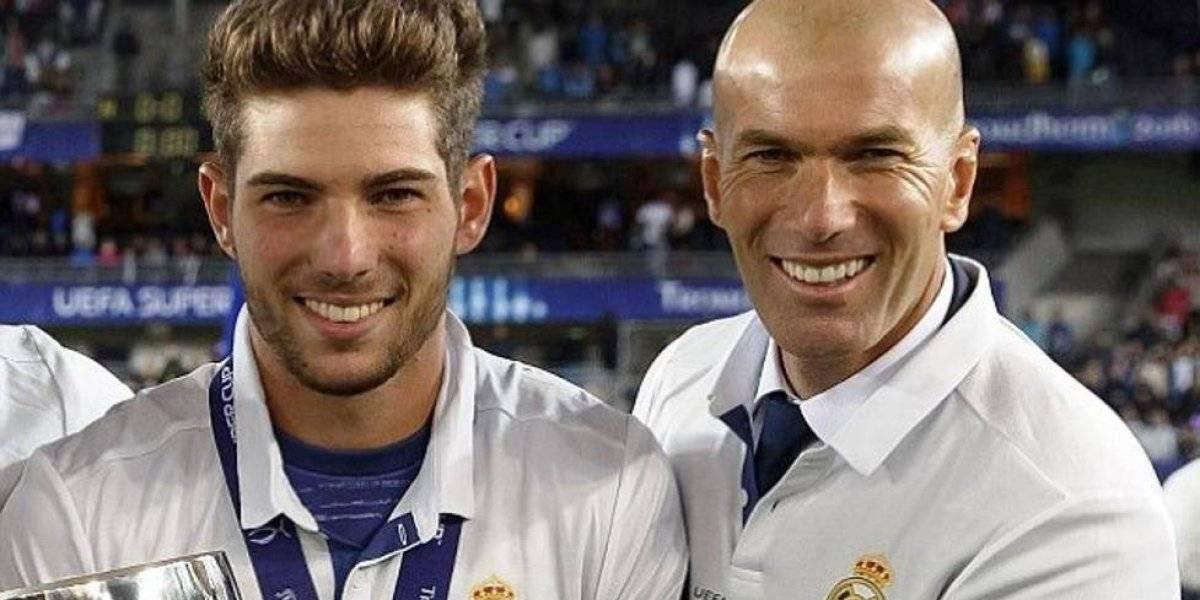 Zinedine Zidane pide a su hijo como segundo portero del Real Madrid