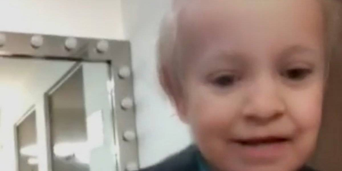 VIDEO: José Ramón Fernández aparece con filtro de bebé