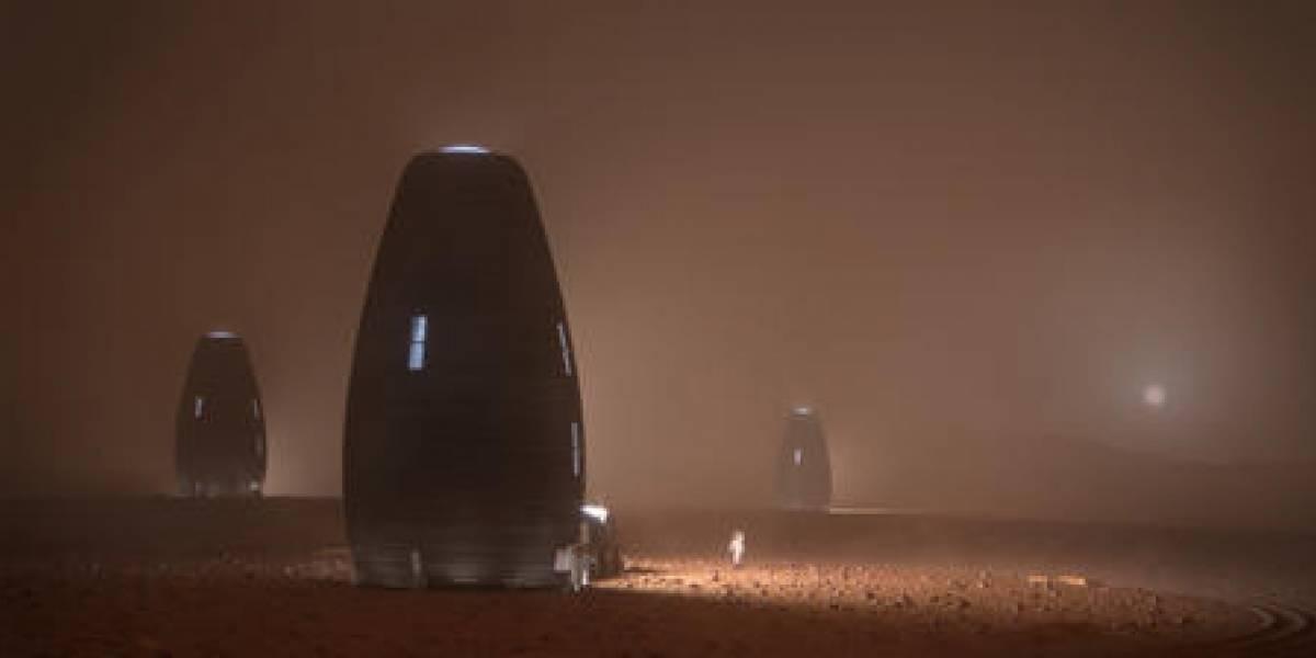 Humanos vivirián en Marte en estos refugios