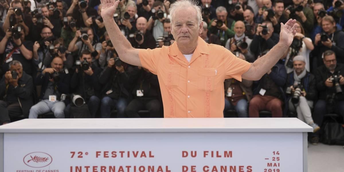 """Cannes 2019: Bill Murray encabezó el """"día de miedo"""" del Festival"""