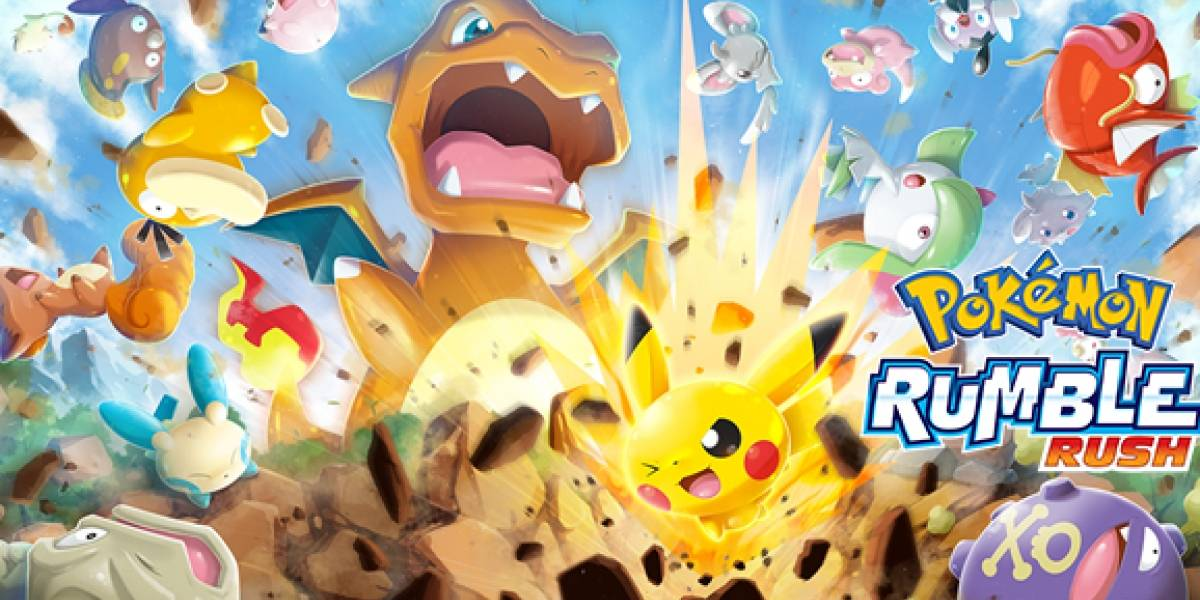 Novo game 'Pokémon Rumble Rush' chega para aparelhos Android e iOS