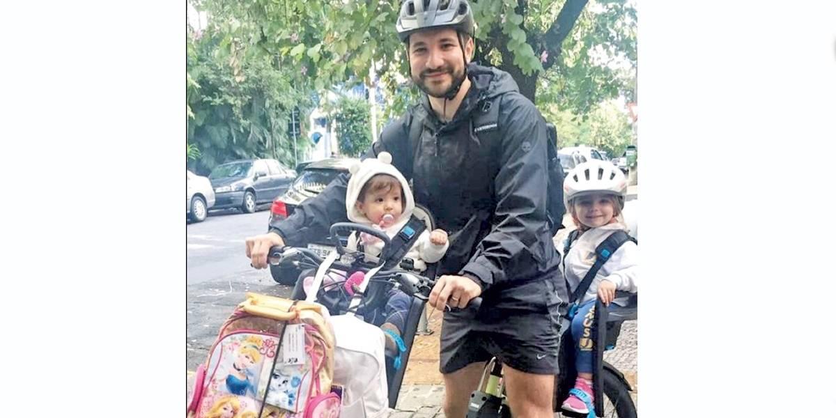 Pedal em família