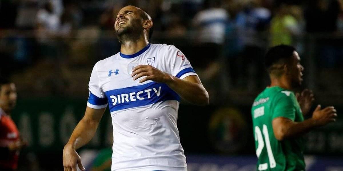 La UC vuelve a perder los goles de Sacha Sáez para la Copa Sudamericana