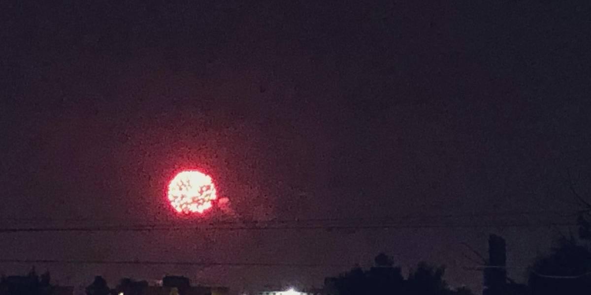 Pese a contingencia, celebran fiesta patronal con fuegos artificiales