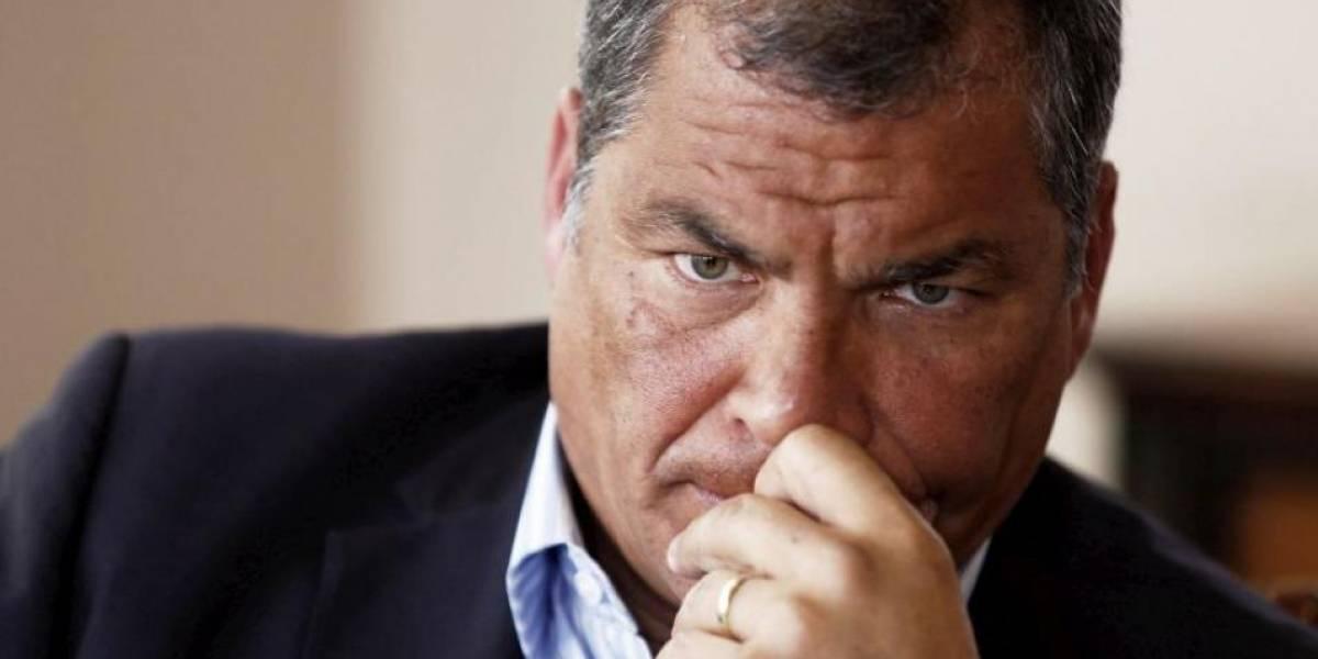 Rafael Correa desmiente pedir firmas para su retorno a Ecuador