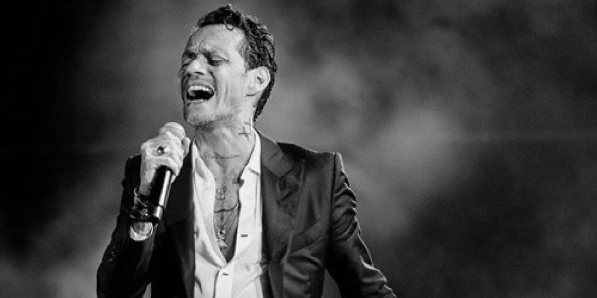 Después de inconveniente en concierto virtual, Marc Anthnony se va de gira presencial
