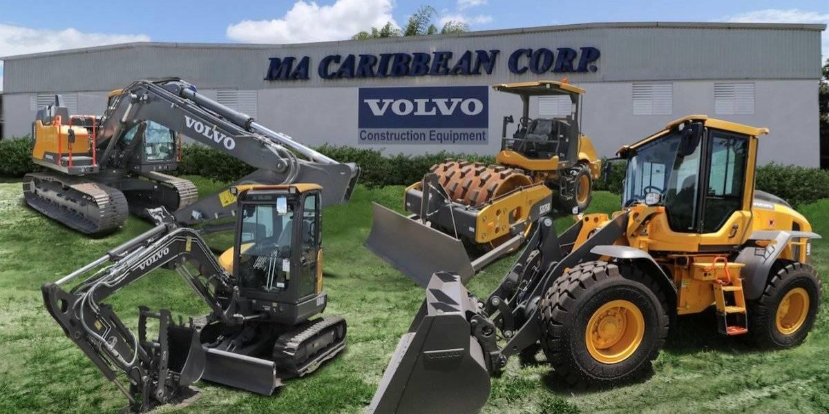 Empresa puertorriqueña adquiere distribución de Volvo Construction Equipment