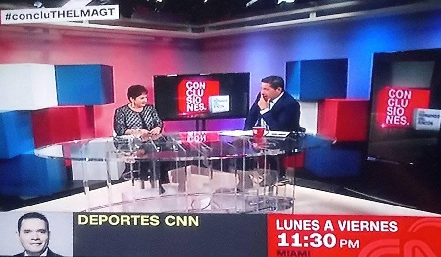 Thelma Aldana en entrevista con Fernando del Rincón