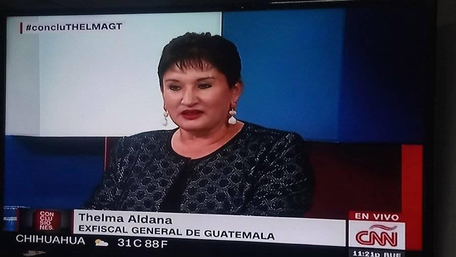 """Thelma Aldana en """"Conclusiones"""""""
