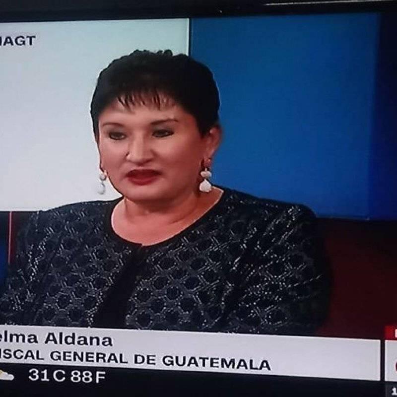 La CC le negó la inscripción a Thelma Aldana como candidata presidencial