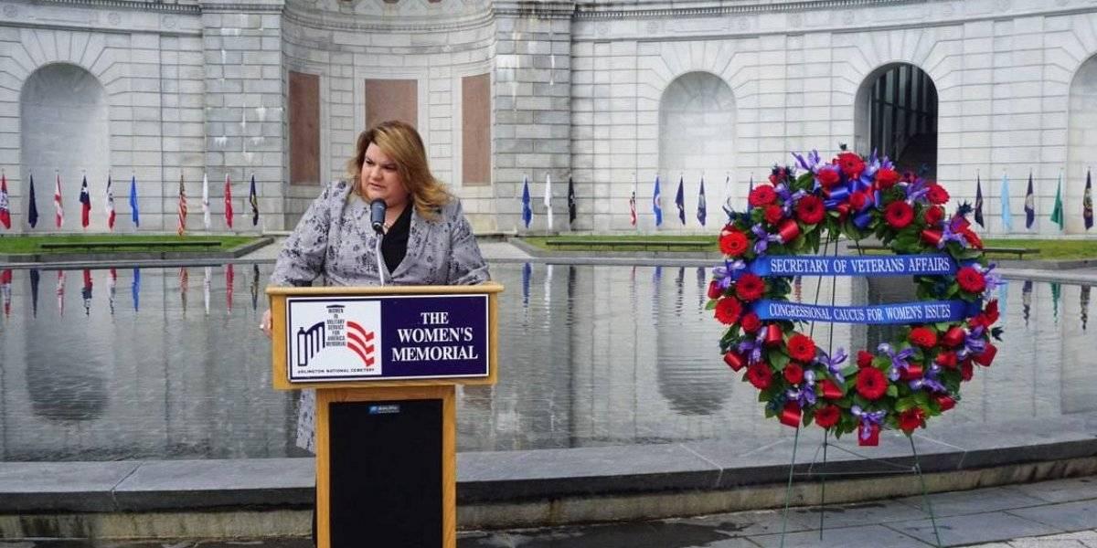 Jenniffer González destaca rol de puertorriqueñas en las Fuerzas Armadas