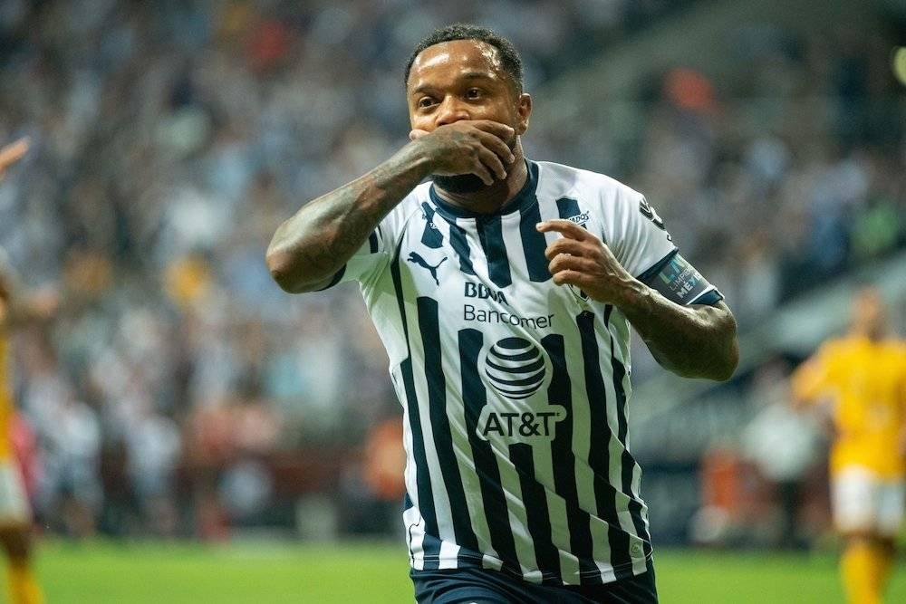 Dorlan Pabón hizo el gol del triunfo rayado. / Mexsport