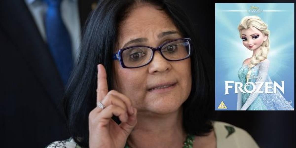 Ministra brasileña asegura que 'Frozen' vuelve lesbianas a las niñas