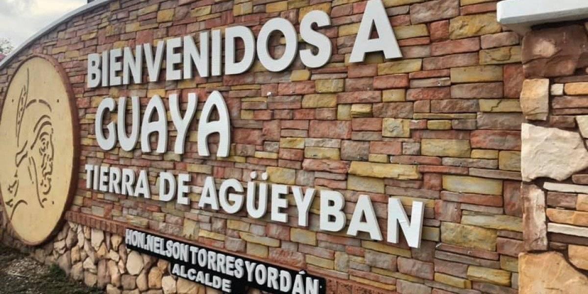 Alcalde de Guayanilla molesto por vandalismo a mural de bienvenida