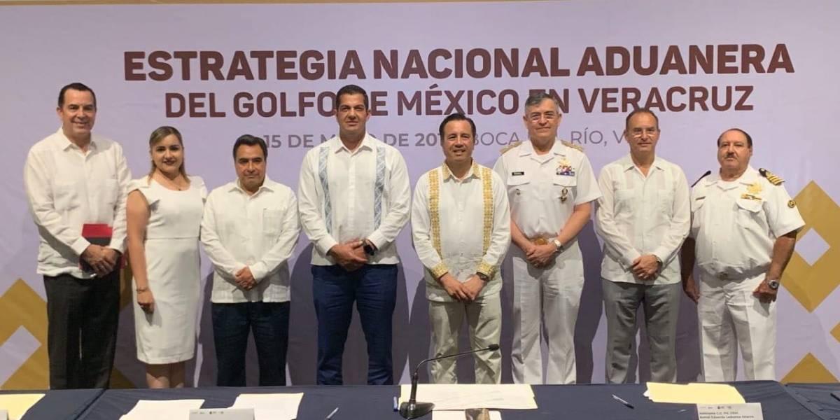 Se instala mesa para Estrategia Nacional Aduanera en Veracruz