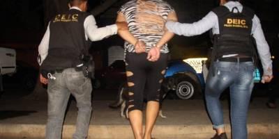operativo contra trata de personas en Santa Rosa