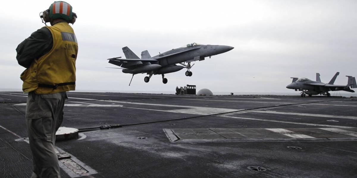 Se acerca la amenaza: portaaviones estadounidense se aproxima al Golfo Pérsico