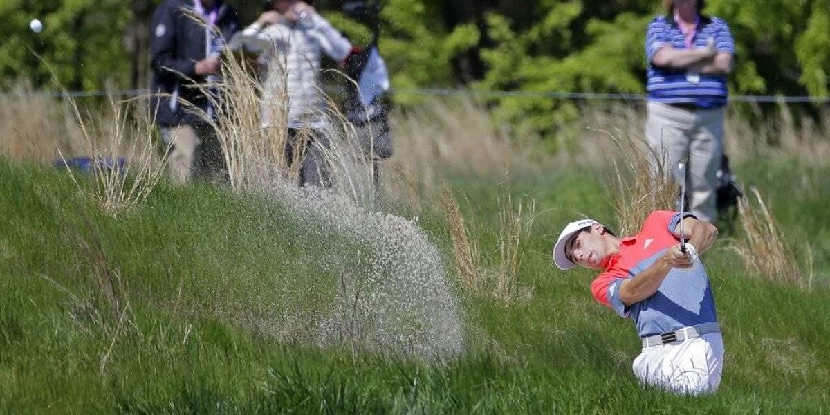 Niemann tuvo un mal arranque en el PGA Championship y deberá remontar para superar el corte