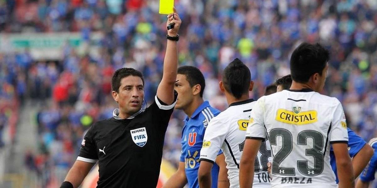 Colo Colo tiene récord perfecto en Superclásicos con Eduardo Gamboa de árbitro
