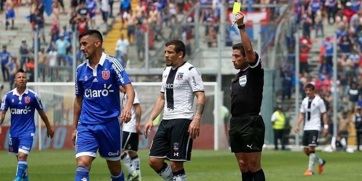 """""""Cagamos"""": el día en que Johnny Herrera ironizó por la designación de Eduardo Gamboa para un Superclásico"""